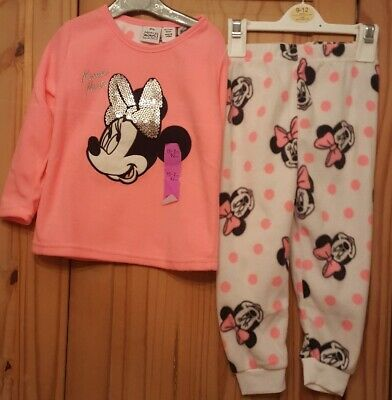 Girls Minnie mouse pyjamas age 18-24 months primark new