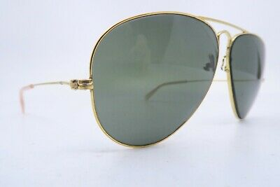 Vintage B&L Ray Ban aviator sunglasses size 58-14 made in the USA SUPERB*****