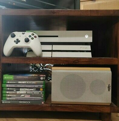 Xbox One S Bundle - 8 Games, Console, Controller, Headset