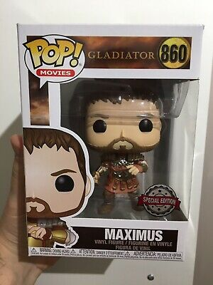 Funko Pop Gladiator Maximus With Armour Exclusive