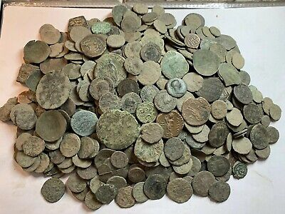 Premium Uncleaned Ancient Roman Coins 100 Coins Per Buy