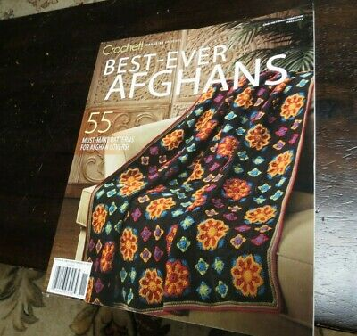 Crochet Magazine Presents:Best Ever Afghans Fall 2011 Single Issue Classy Scraps