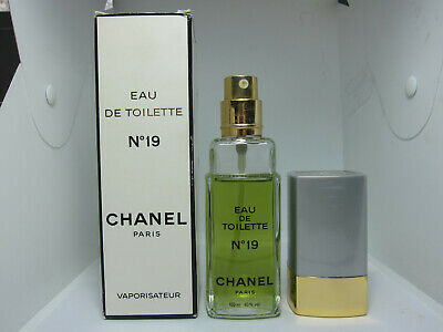 CHANEL No 19 100 ml 3.4 oz Eau de Toilette EDT perfume EG49