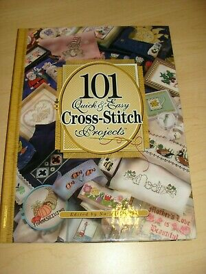 2001 The Needlecraft Shop 101 Quick & Easy Cross Stitch Projects Pattern Book