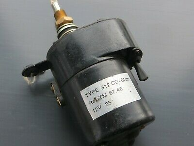 Universal 12Volt Wiper Motor Never Used Land Rover Jeep Classic Van Boat