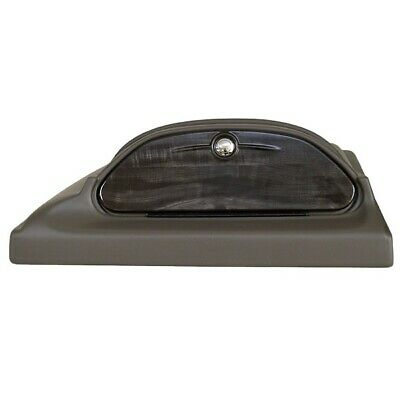 Skiers Choice 103377 Charcoal / Woodgrain Boat Glove Compartment Hatch / Box