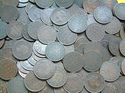 *** 160 Canada Victoria Large Cents  1859-1901  Large Lot - Great Shape ***