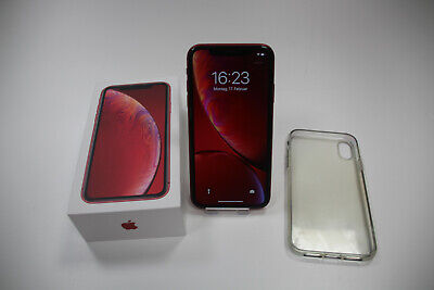 Apple iPhone XR (PRODUCT) RED 64GB (Ohne Simlock) MRY62ZD/A in OVP