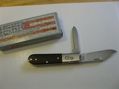 Case XX USA BARLOW Knife 42009 1/2 SS Brown Smooth Synthetic Handles Made In USA