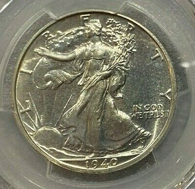 1940 Walking Liberty Proof Half Dollar PCGS PR66 Even Color and Luster