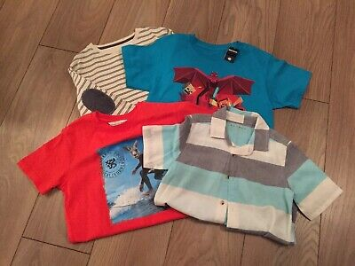 Boys Clothing Small Tops Bundle Age 7-8