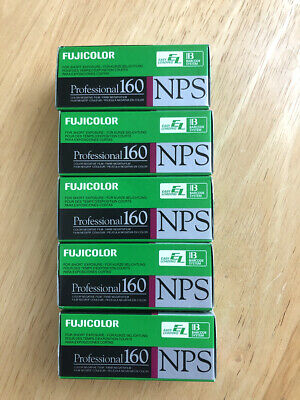 120 Fujifilm Fujicolor Professional 160 NPS film Expired
