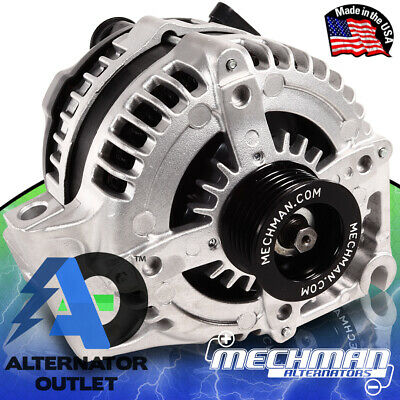 Mechman 320 Amp Alternator GM V6 Front Wheel Drive Car BUICK/CHEVY/OLDS/PONTIAC