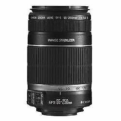 Canon EF-S 55-250mm f/4-5.6 is Image Stabilizer Telephoto Zoom Lens (Intl Model)