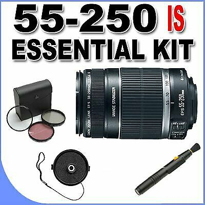 Canon EF-S 55-250mm f/4.0-5.6 is Telephoto Zoom Lens for Canon Digital SLR Camer