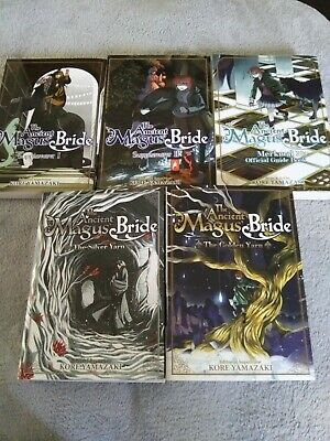 The Ancient Magus Bride Manga Lot Side Stories + Merkmal + Supplement 1 and 2