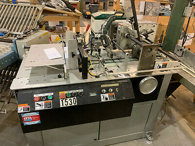Kirk Rudy 203-C Coin Affixer Penny Nickel Direct Mail Machine Robatech