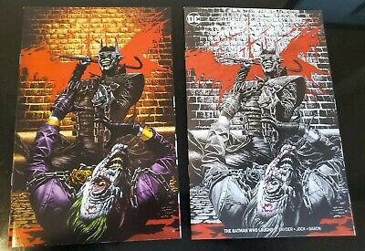 BATMAN WHO LAUGHS #2 *NM* VARIANT MICO SUAYAN VIRGIN & SKETCH *Limited* Rare!!!