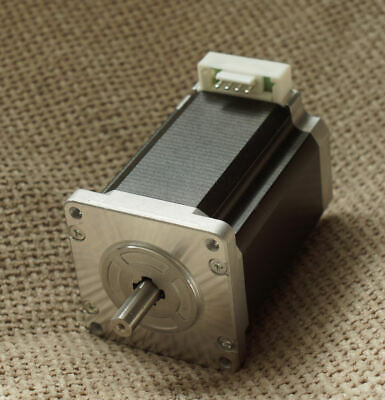 Sanyo Denki Bipolar Single Shaft Stepper Motor 1.8°, 2.7Nm, 24 V dc, 4 A, 4 Wir