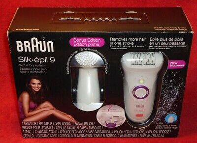 Braun Silk Epil 9 Wet & Dry Epilator Legs, Body & Face