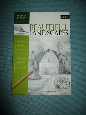 Walter Foster DRAWING MADE EASY:Beautiful Landscapes: Diane Wright- Book