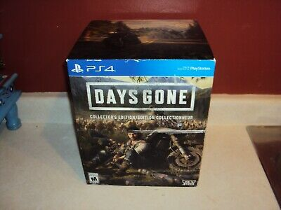 Ps4 Playstation Days Gone Collector's Edition Factory Sealed Free Usa Shipping