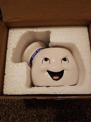 Ghostbusters Stay Puft Marshmallow Man planter