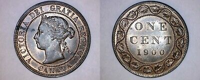 1900-H Canada 1 Large Cent World Coin - Canada