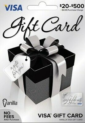 $50 GIFT CARD. ACTIVATED. Ready To Use! No Additional Fees. Free Shipping!!
