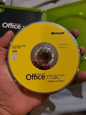 Microsoft office for mac home and student 20111 user whit cd key