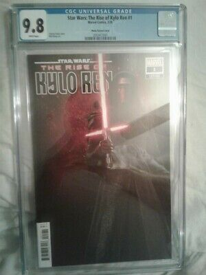 Marvel Star Wars The Rise of Kylo Ren #1 1:10 Photo Variant CGC 9.8