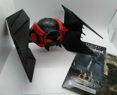 Disney Parks Star Wars Galaxy's Edge Kylo Ren Tie Fighter Popcorn Mug +BONUS