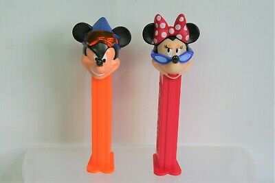 Mickey and Minnie - Pez Dispensers