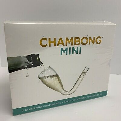 Chambong Mini 2pc 3 oz. - Champagne Shooters - Bachelorette Party - NEW