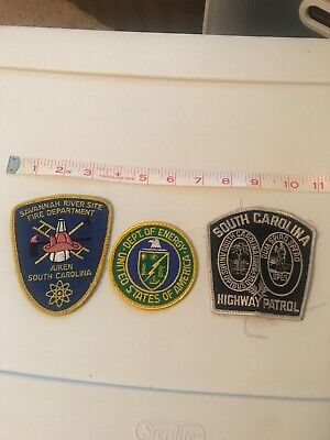 3 Collectible Patches From South Carolina