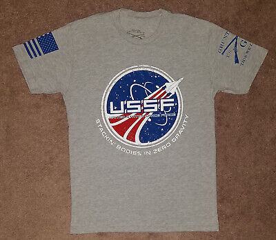 Grunt Style USSF t-shirt size MEDIUM shirt United States Space Force