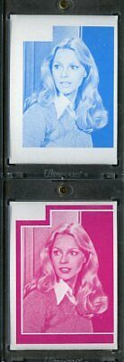 1977 Topps Charlies Angels Color Separation Proof Cards. #205