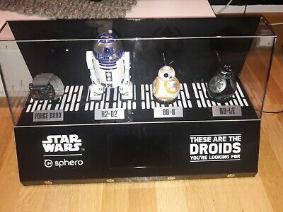 Sphero Star Wars Schaukasten