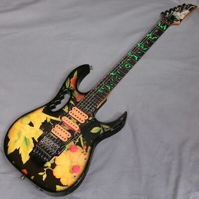 Ibanez JEM77 Steve Vai Floral Pattern 1999 Electric Guitar Made in Japan, f0314