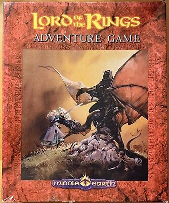 lord of the rings adventure game I.C.E. Rolemaster Box Game COMPLETE