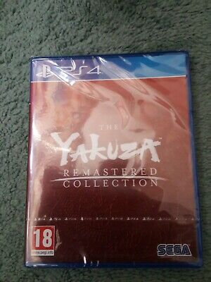 Yakuza Remastered Collection Brand New Sealed Standard Edition PS4 PlayStation 4