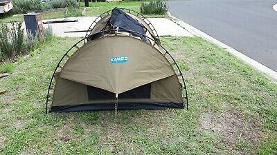 Adventure Kings Big Daddy Deluxe Double Dome Swag Tent