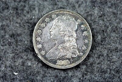Estate Find 1835 - Capped Bust Quarter Dollar!!  #H3820
