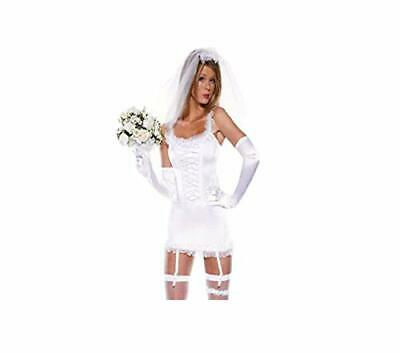 Ladies Bride Hen Do Night Party Fun Fancy Dress Costume Outfit UK 8-22 Plus Size