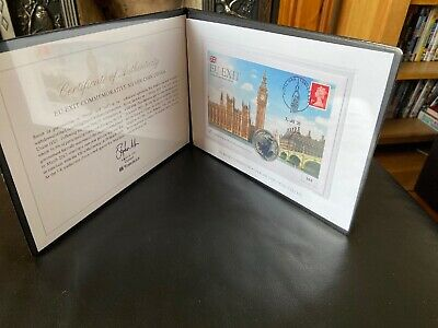 The Brexit 2020 Commemorative Silver Coin Stamped Cover Limited Edition of 995