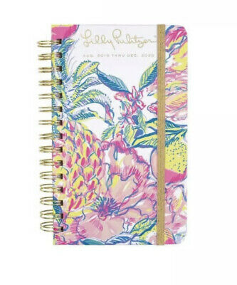 "Lilly Pulitzer Medium 17 Month Hardcover Agenda, 8.25"" x 5"" Personal Planner"