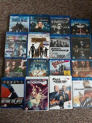 Blu Ray /Dvd Joblot New And Used