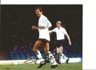 Frank Worthington 10x8 Signed Colour Photo Pictured In Action For Bolton JM72