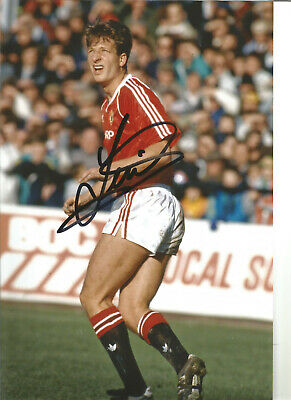 Football Autograph Lee Martin Manchester United Signed 12x8 in Photograph JM55