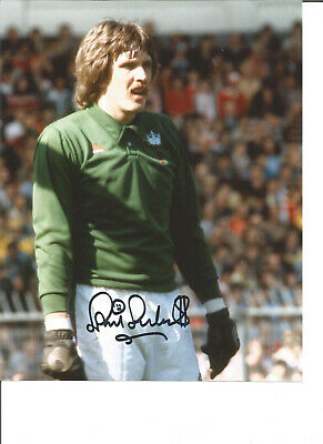 Football Autograph Phil Parkes West Ham United Signed 10x8 inch Photograph JM76